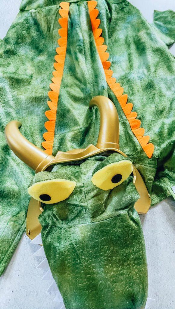 Alligator Loki costume for pets (Alligator Loki dog costume for Loki variant cosplay)