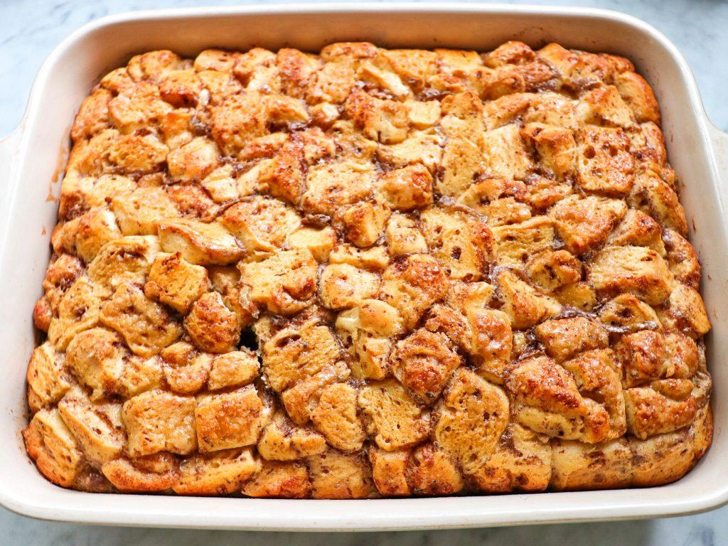 cinnamon roll breakfast casserole recipe