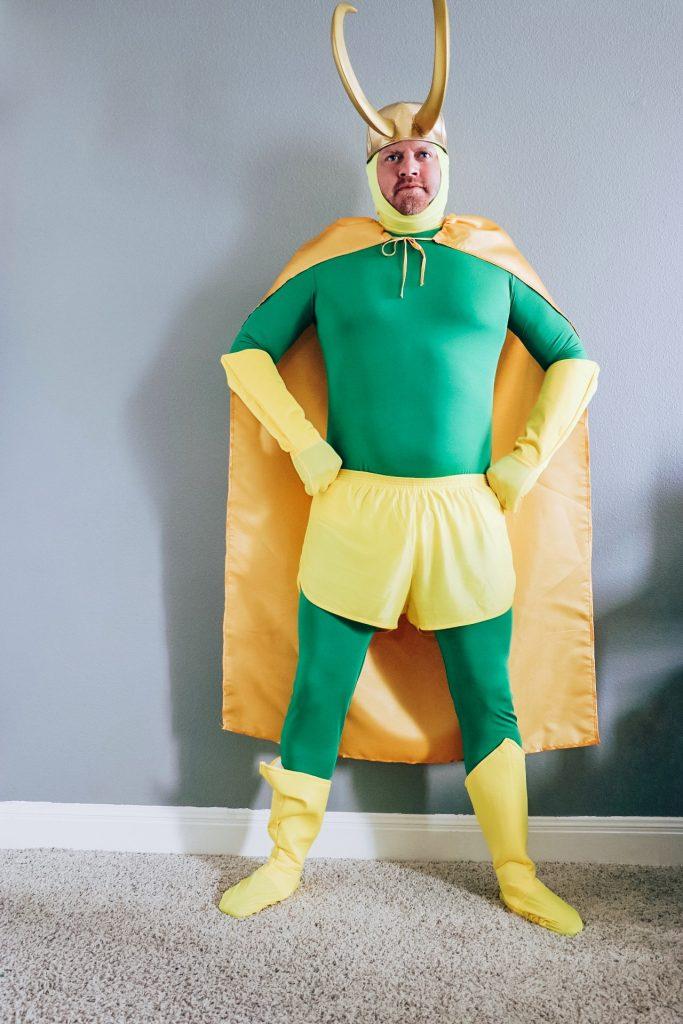 Classic Loki costume (Loki variant cosplay)
