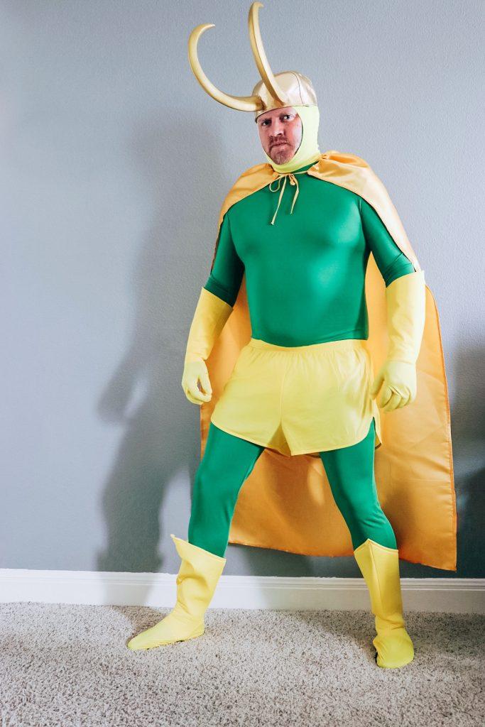 Classic Loki costume (DIY Loki variant costume)