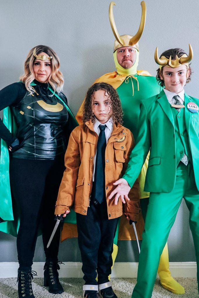 DIY Loki costume ideas for Halloween (Loki variant cosplay)