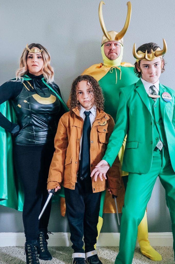 Loki cosplay (DIY Loki variant Halloween costume ideas)