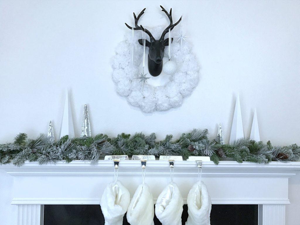 DIY Paper Flower Wreath (tissue paper flower wreath)