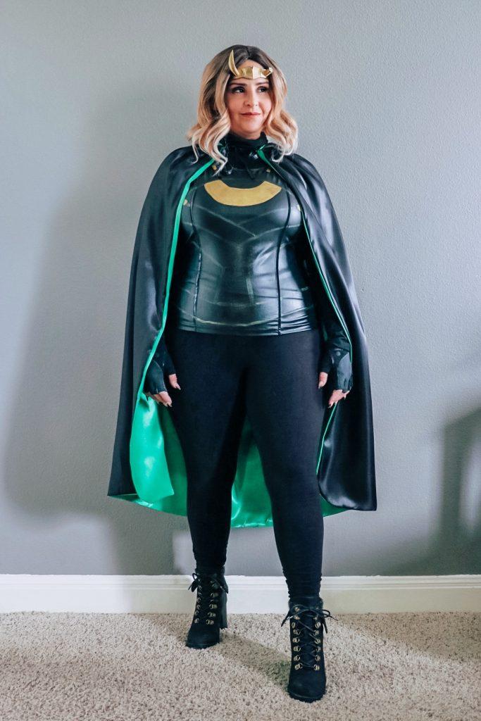 Sylvie costume (Loki variant outfit)