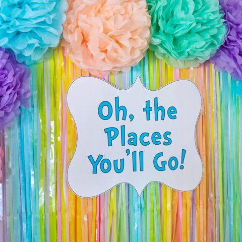 DIY Tissue Paper Party Decorations (easy DIY tissue paper craft ideas)