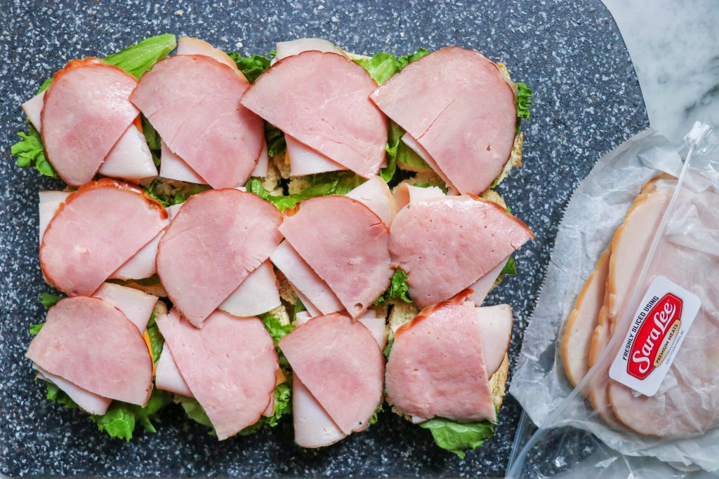 Ham and Turkey Sliders (make-ahead sandwiches for lunch)