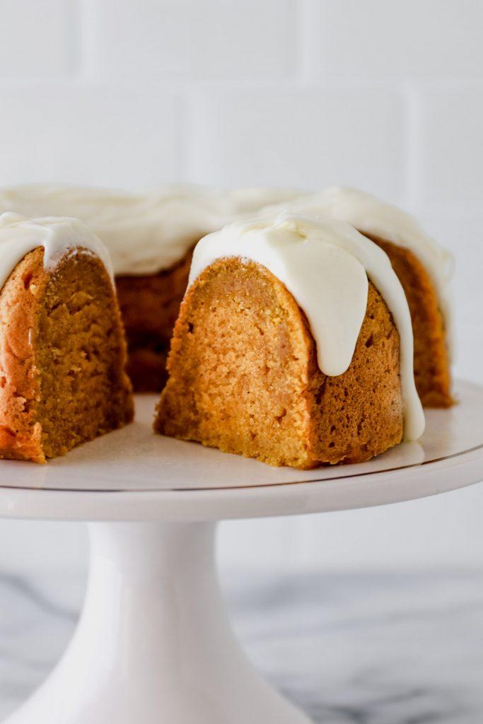 Instant Pot Pumpkin Bundt Cake