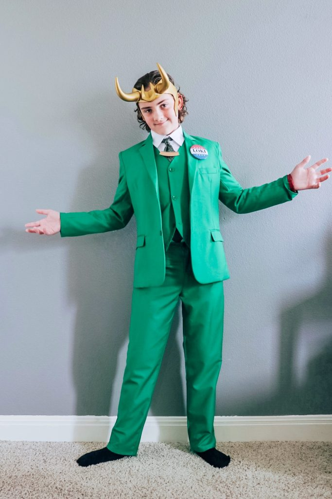 President Loki costume (Loki variant cosplay)