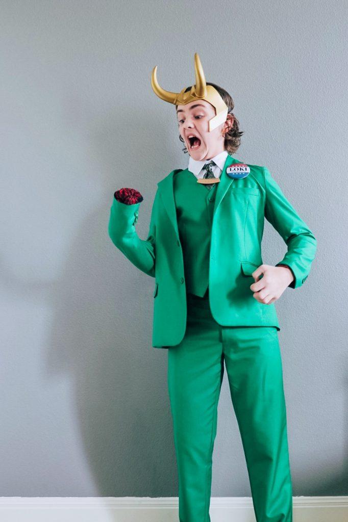 Loki for President costume (Loki variant cosplay)