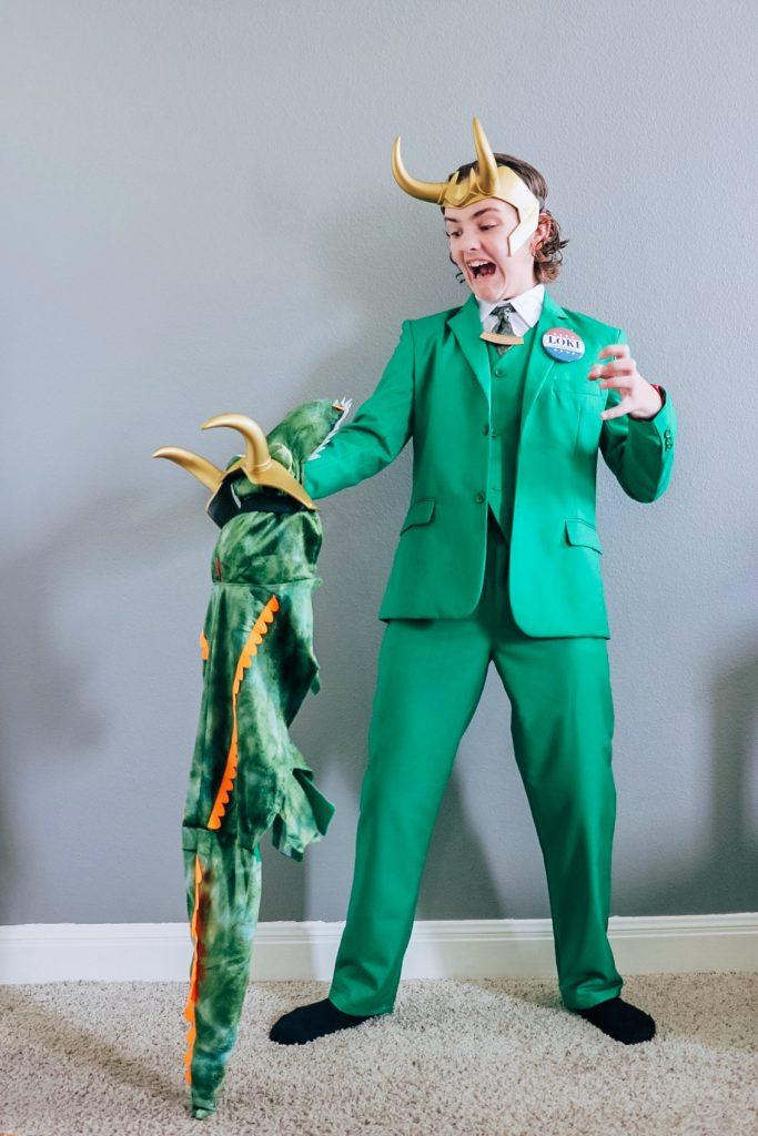 President Loki costume (Loki president outfit)