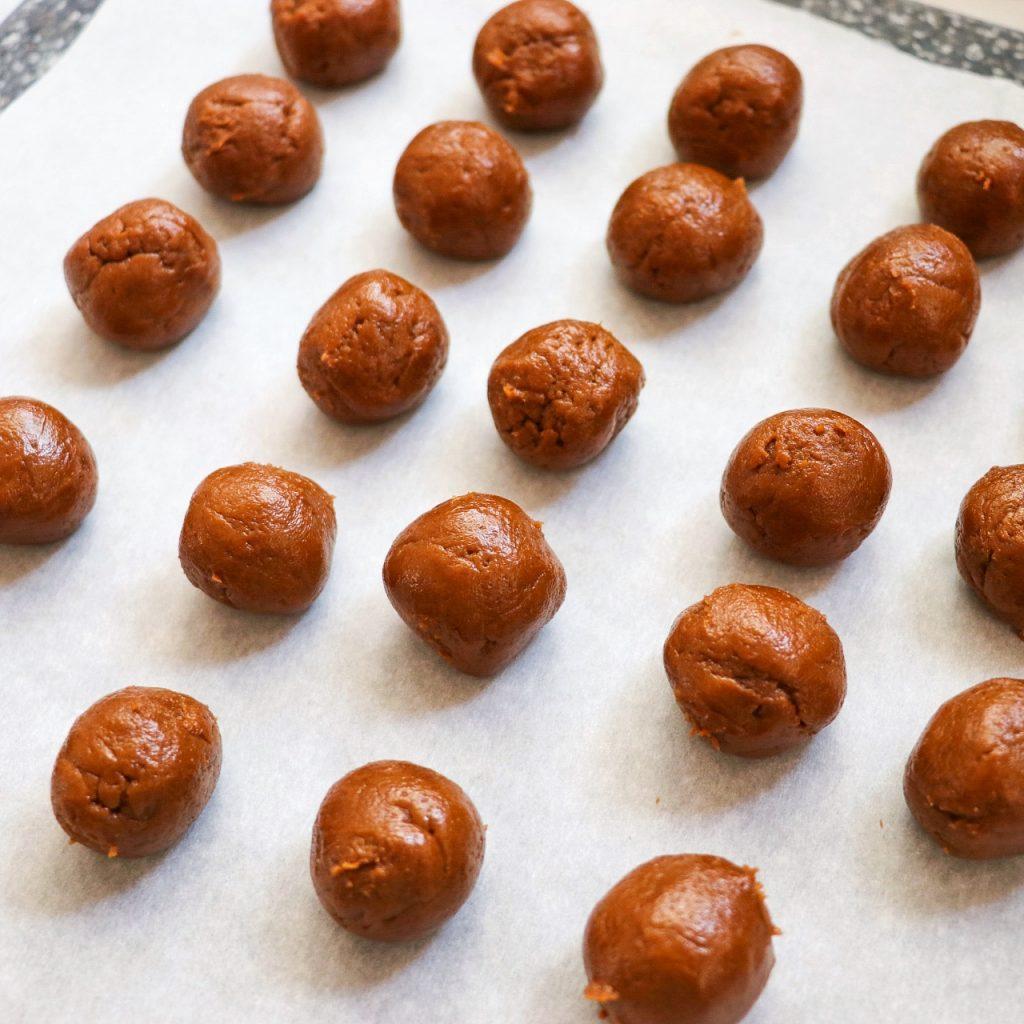 no bake pumpkin balls