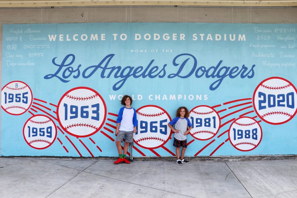MLB road trip southwest to see the Dodgers, Angels, Padres, and Diamondbacks