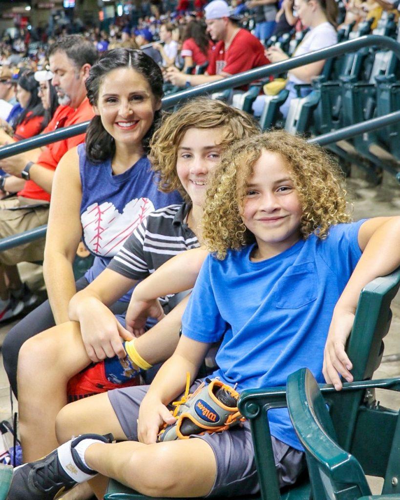 baseball trips: seeing a diamondbacks game with kids