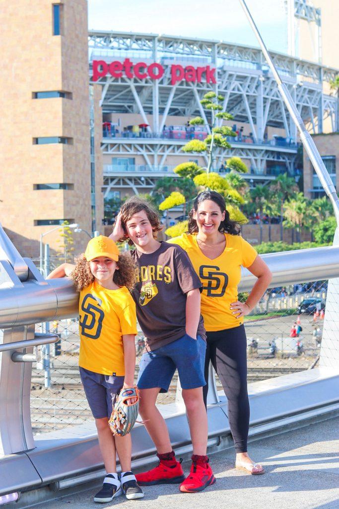 MLB road trip - San Diego Padres game at Petco Park