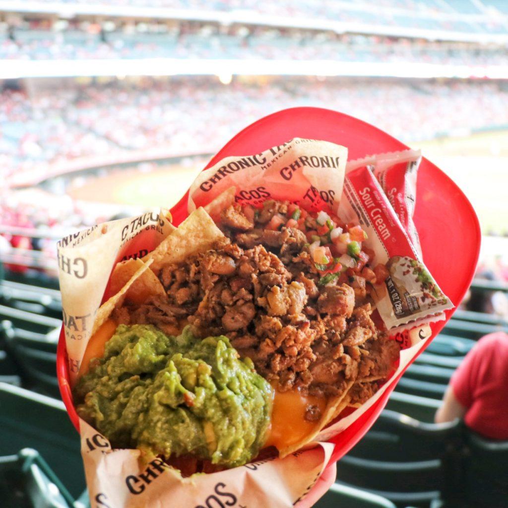 Angel Stadium concessions (southwest baseball road trip)