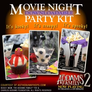 The Addams Family 2 Movie Night Party Kit