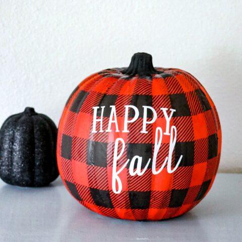 Pretty Pumpkins: 10 Easy Decoupage Pumpkins