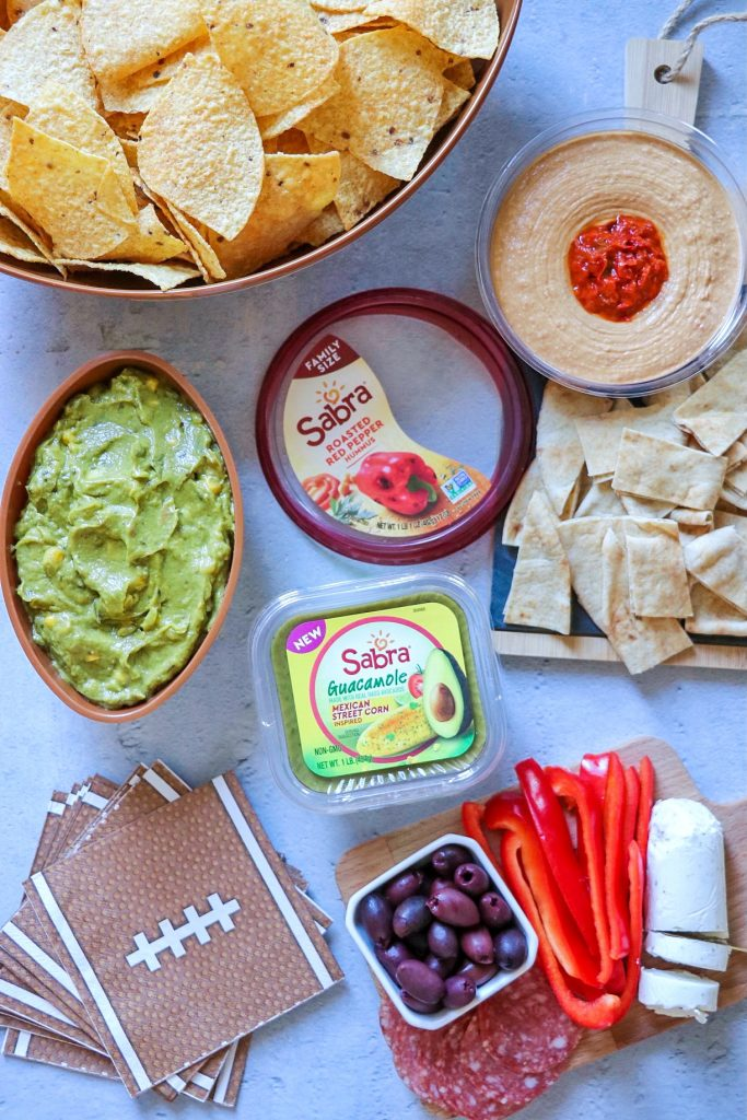 snacks to eat with hummus